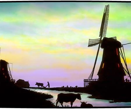 The Netherlands--a Protestant country to which many Huguenots fled