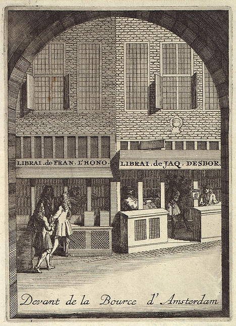 Huguenot Bookstore in Amsterdam