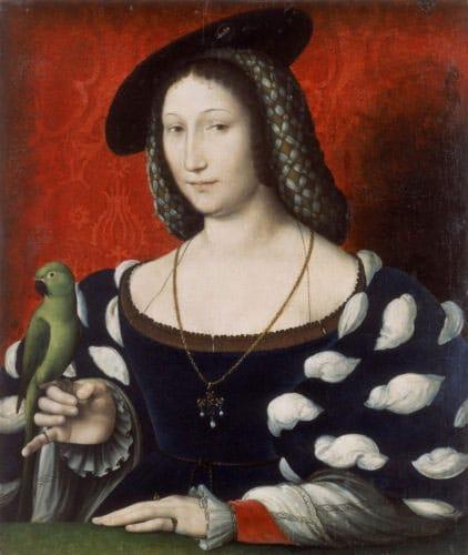 A portrait of Marguerite D'Angouleme